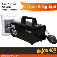 Fog Smoke Machine for Party, Stage Performance with Magnetic Switch 400w