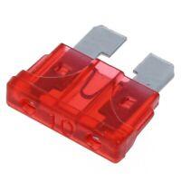 1X(50 pieces moto ATC ATO fusible plat Fusible de voiture 10 a rouge Z3J6) v1b