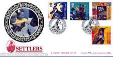 1999 coloni TALES-Benham PILGRIM UFFICIALE-migrazione, Birmingham H / S