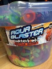 Aqua Blaster Water Bomb Battle Bucket 300 Water Balloons NEW