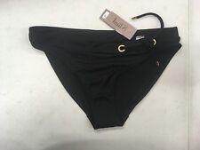 EB39 Huit Dressy Brazilian Bikini Bottom Black Size XS