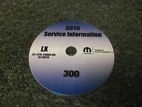 2015 Chrysler 300 OEM Shop Service Repair Manual CD S C Limited 3.6L V6 5.7L V8