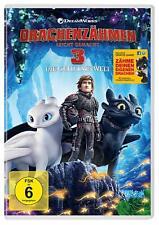 Drachenzähmen Leicht Gemacht 3: Die Geheime Welt (DVD, 2019)