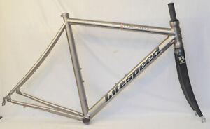 Litespeed Tuscany 51cm Titanium Road Frame & Litespeed Full Carbon Fork 700c