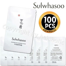 Sulwhasoo Snowise EX Cleansing Foam 5ml x 100pcs (500ml) Sample AMORE PACIFIC