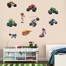 Blaze and the Monster Machines Kids Wall Art Stickers Nursery Boys Girls Decal