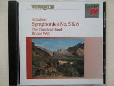 Schubert - Symphonies No. 5 & 6 - The Classical Band - Bruno Weil - Sony CD