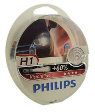 PHILIPS H1 Vision Plus +60% mehr Licht Duo Pack 12258VPS2