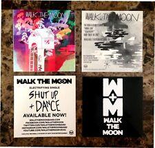 WALK THE MOON Shut Up & Dance | S/T Stickers +FREE Indie Rock Pop Stickers Lot!