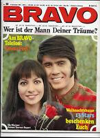 BRAVO Nr.50 vom 4.12.1967 Mireille Mathieu, Small Faces, Beatles, Diana Rigg