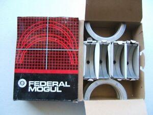 "Federal 4400M10 Engine Main Bearings .010"" 1968-1974 Chevrolet 366 396 427 454"