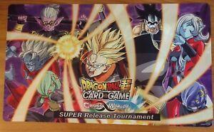 PRE RELEASE !! - CrossWorlds Pre-Release Playmat - Dragon Ball Super TCG : Goku