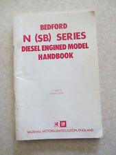 1976 Bedford N (SB) series diesel engine truck handbook