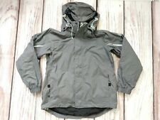 Ladies Nike ACG Padded Ski Coat Jacket with Hood Grey Size Large
