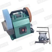 Electric Knife Sharpener Water-cooled Grinder Low Speed Grinding machine 220V