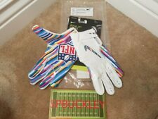 NIKE VAPOR JET 5.0 ADULT RECEIVER FOOTBALL GLOVES, NFL CRUCIAL CATCH , NWT