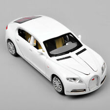 Alloy Diecast 1/32 Bugatti Veyron 16C Galibier w/sound White Car Vehicle Toy
