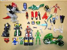 Lot of Vintage 90?s Bandai Mighty Morphing Power Rangers/Robot/Parts and Pieces