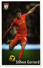 "Steven Gerrard FC Liverpool  3.2"" X 5.9"""