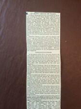 V4a Ephemera 1896 Article Li Hung Chang In Paris