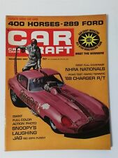 Car Craft Magazine November 1967 Snoopy's Laughing Jag - 1968 Dodge Charger R/T