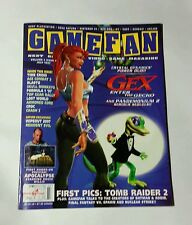 GAMEFAN Vol 5, Issue 7 1997 Vintage Rare - Gex, Wipeout, Resident Evil