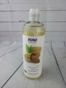 16oz 100% Pure Sweet Almond Oil For Skin Face& Body Moisturizer. -F13-