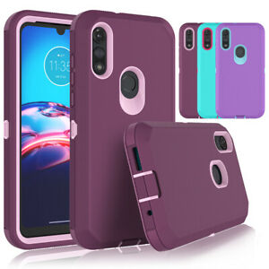 For Motorola Moto E 2020 Shockproof Phone Case Heavy Duty Armor Impact Cover