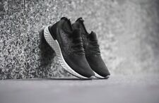 Nike Epic React Flyknit GS UK 3 EU35.5 Black Dark Grey Unisex RRP£100