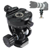 2D 360 Metal Panoramic Panorama Ball Head for Tripod Monopod Quick Release Plate