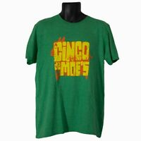 Mens Anvil Moe's Cinco de Moe's 2017 Green Short Sleeve T-Shirt Size L Large