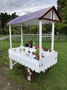 CANDY CART SWEET CART FOR SALE MARKET CART STALL TROLLEY DISPLAY STAND