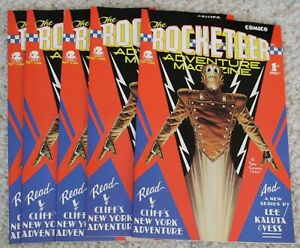 Rocketeer Adventure Magazine  #1 Dave Stevens Lot (5 issues)