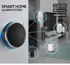 Smart WiFi Cloud Home Security Alarm System works with Alexa