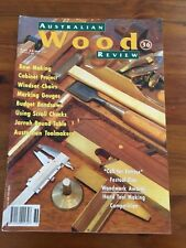 AUSTRALIAN WOOD REVIEW  Issue No. 36 TIMBER, WOODWORKING VGC