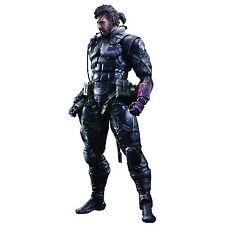 Officially Licensed MGSV Phantom Pain Venom Snake Sneaking Suit Play Arts Kai