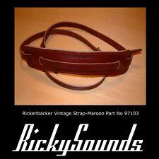 Rickenbacker Correa - Granate - Nuevo
