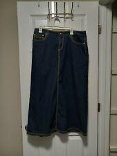 womens denim skirt size 12