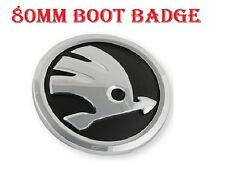 Skoda Boot Back Emblem Badge Symbol Logo 80mm