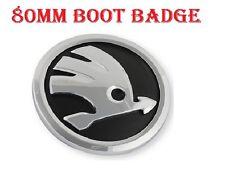 Skoda Boot Back Emblem Badge Symbol Logo 80mm