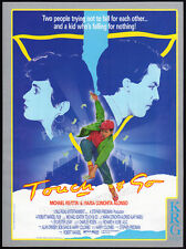 TOUCH AND GO__Original 1986 Trade print AD / promo__MICHAEL KEATON__AJAY NAIDU