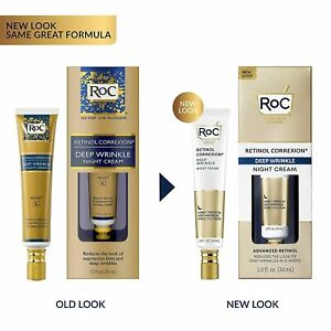 RoC Retinol Correxion Deep Wrinkle Night Cream  1fl oz  30ml   IN STOCK IN UK