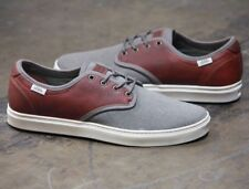 VANS Ludlow (Military) Bungee Leather Skate Shoes MEN'S 7 WOMEN'S 8.5