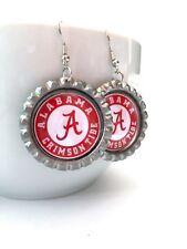 COLLEGE FANS!!  University of Alabama CRIMSON TIDE Earrings