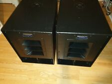 More details for swa1501 mackie subwoofer x2