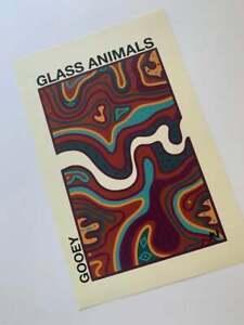 Glass Animals Gooey Poster, Glass Animals Poster, Wall Art Decor, No Frame