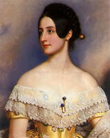 Oil painting Joseph Karl Stieler - lady emily milbanke beautiful young noblelady