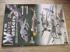 $$ Revue Wing Masters N°106 Albatros D.Va  P-61A Black Widow  Sea Harrier FA.2