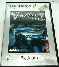 Sony Playstation 2 Game V-Rally 3 PS2 Spiel
