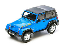 Greenlight  1:43     2012   Jeep Wrangler Rubicon  Islander  Edition      blue